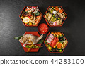 New Year dishes General Japanese New Year dishes (osechi) 44283100