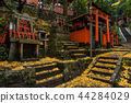 Fall Fushimi Inari Inariyama Senbon Torii เมืองเกียวโตประเทศญี่ปุ่น 44284029