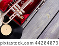 Vintage style musical objects. 44284873