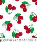 cherry seamless vector 44286414
