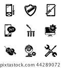fix, icons, set 44289072