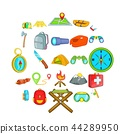 icons, set, vector 44289950