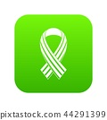 Ribbon LGBT icon digital green 44291399