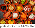 New Year dishes General Japanese New Year dishes (osechi) 44292362