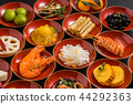 New Year dishes General Japanese New Year dishes (osechi) 44292363