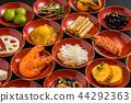 อาหารปีใหม่ทั่วไปอาหารญี่ปุ่นปีใหม่ (osechi) 44292363