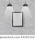 Picture frame with ceiling lights 44293162