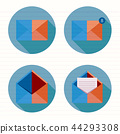 email, letter, icon 44293308