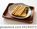 日本醃菜 爛醉如泥的 白色背景 44294072