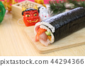 futomaki, thickly rolled, eho maki sushi roll 44294366