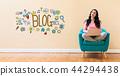 blog, media, website 44294438