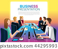 Business Group Meeting in Vector 44295993
