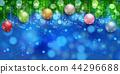 크리스마스 눈 겨울 배경 44296688