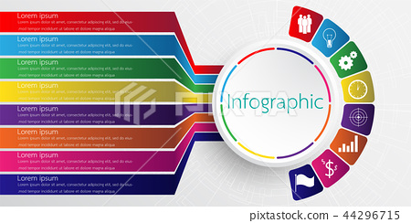 The infographic details for the report. 8 topic. 44296715