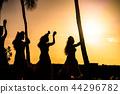 """""""Hawaii"""" Hula dance show-Oahu 44296782"""