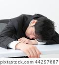 business man, overwork, overworking 44297687