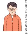 ผู้ชาย,ชาย,วัยกลางคน 44298189