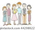 가족 일러스트 44298622