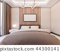 3D Rendering of Cozy Master bedroom 44300141
