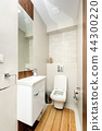 Modern bathroom interior 44300220