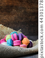 colorful of macarons 44301378