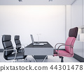 Interior of CEO Office with white wall 44301478