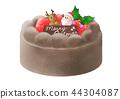 聖誕蛋糕巧克力 44304087