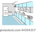 厨房 配套厨房家具 房屋 44304357