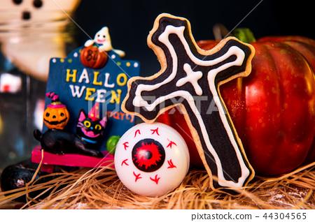 万圣节 糖霜 饼干 派对 捣蛋 恶作剧 ハロウィンのクッキー halloween cookies 44304565