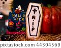 万圣节 糖霜 饼干 派对 捣蛋 恶作剧 ハロウィンのクッキー halloween cookies 44304569