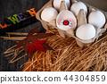 万圣节 创意 眼球蛋 恶作剧 吓人 卵の目 eyeball in egg 44304859