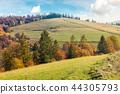 เนินเขา,ชนบท,ฤดูใบไม้ร่วง 44305793