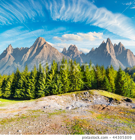composite image of High Tatra mountains 44305809