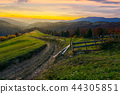 mountain, fence, country 44305851
