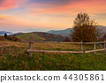 countryside, rural, fence 44305861