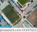 Football field from above 44307022