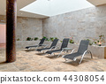 Lounge chairs in relaxation room 44308054