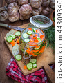 Pickled vegetables. 44309340