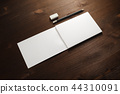 Notepad, pencil, eraser 44310091