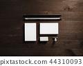Business cards, pencil, eraser 44310093