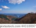 Ariyama dam and Lake Naguri from Arimasu Pass in Saitama Prefecture 44310097