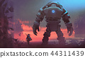 繪畫 巨大的 機器人 44311439