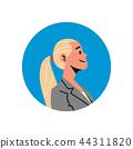 vector profile portrait 44311820