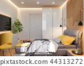 bedroom, interior, design 44313272