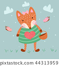 fox animal vector 44313959