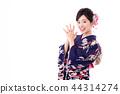 A woman in a kimono 44314274
