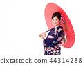 A woman in a kimono 44314288