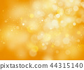 Halloween abstract bokeh orange glitter background 44315140