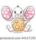 mouse rat vector 44317195