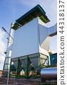 Electrostatic precipitator at biomass power plant 44318137